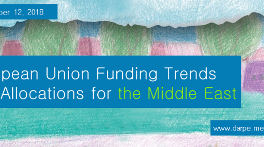Free Webinar: European Union funding trends and allocations for the Middle East