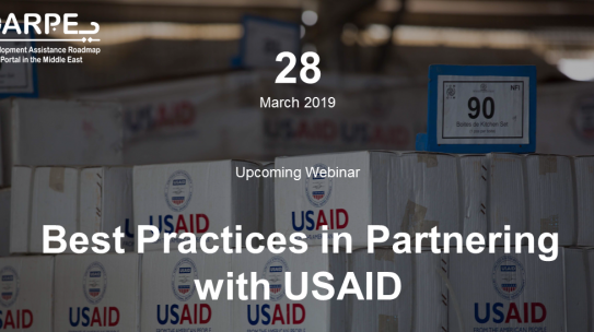 Best practices in Partnering with USAID