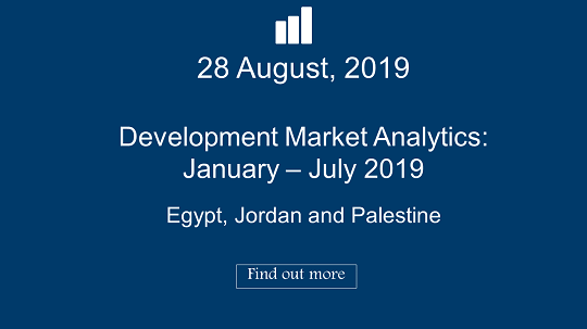Development Aid Funding Priorities in Egypt, Jordan and Palestine : January- July 2019