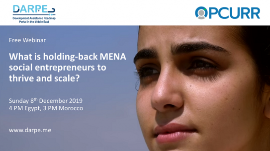 What is holding MENA Social Entrepreneurs to thrive and scale?