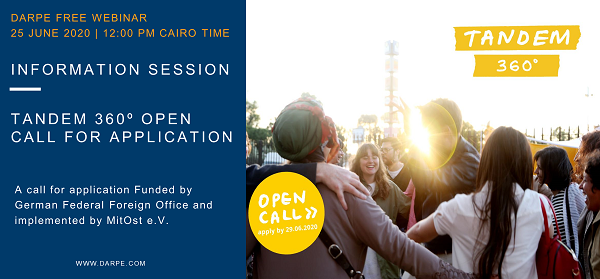 Tandem 360º Call for Application Information Session