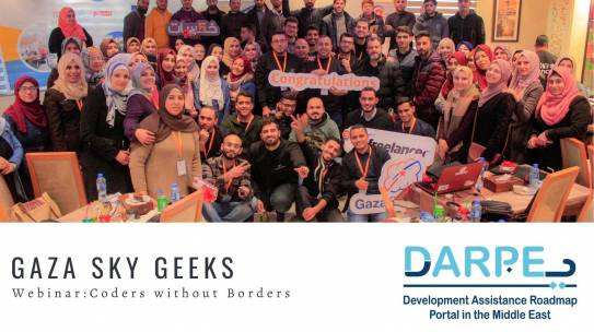 Gaza Sky Geeks – Coders Without Borders