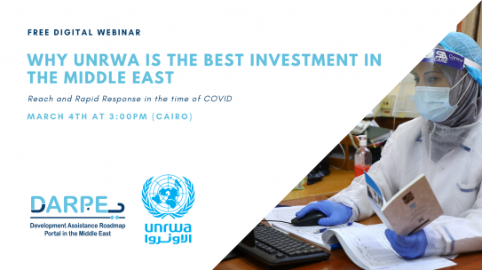 Why UNRWA is the Best Investment in the Middle East