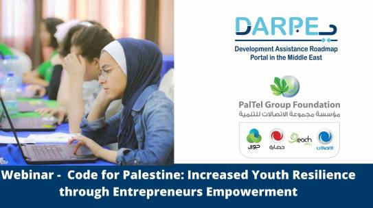 Code for Palestine: Increased Youth Resilience through Entrepreneurs Empowerment